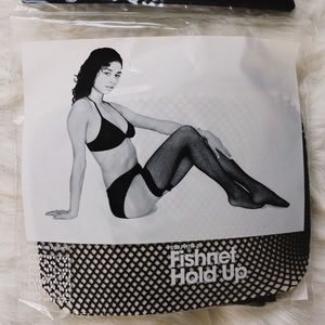 American Apparel Other - New American Apparel thigh high fishnet tights