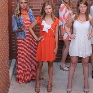 TN Orange Gameday Dress