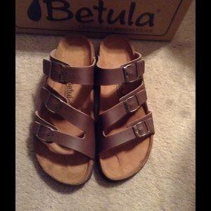 2b7dbea16b7b Birkenstock Shoes - New Birkenstock Betula sandals size 39 UK 8 ladies