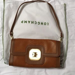 Authentic NEW Longchamp leather bag.