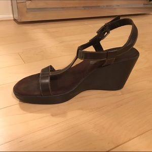 Merona Ankle Strap Wedges