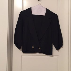 Twelfth Street by Cynthia Vincent Jackets & Blazers - Twelfth Street by Cynthia Vincent Blazer - Small