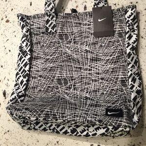 Nike Rowena Tote Bag, White/Black.