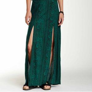 Billabong Dresses & Skirts - Green Billabong maxi skirt