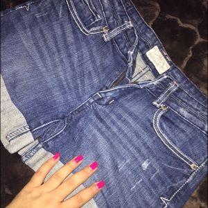 Aeropostale jean shorts sz 1/2. Perfect length