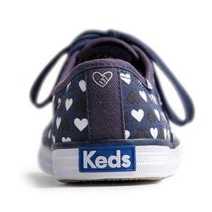 KEDS by Taylor Swift Blue Heart Sneaker