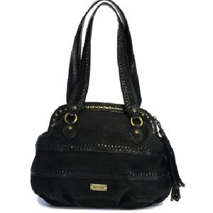 Moschino Cheap & Chic- Black Leather Shoulder Bag