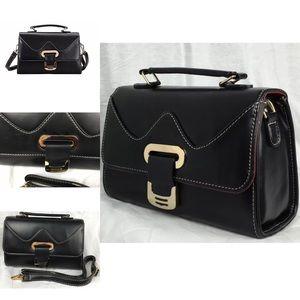 🎉HP🎉 BLACK-Red-Blue Stitch Handle Strap Handbag