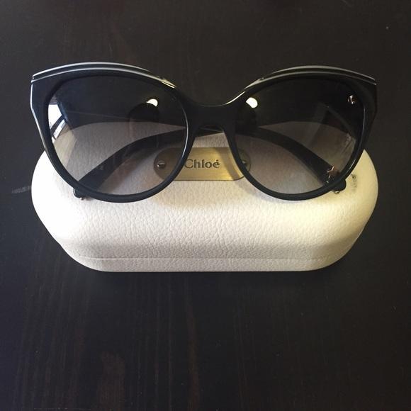 7cad685b92c Chloe Accessories - Chloe Cat Eye Acetate Star Sunglasses