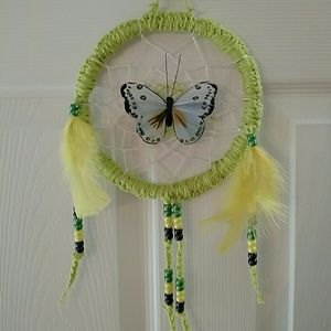 Butterfly Dream Catcher 8 inches