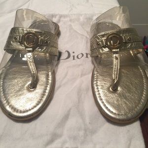 Dior Shoes - Authentic Christian Dior Sandals!