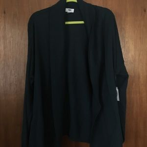 NWT XL old navy cocoon sweater - green