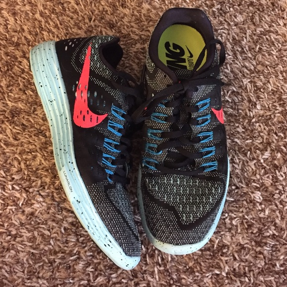 Nike Shoes - Black Nike Lunartempo's size 7.5