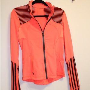 lululemon athletica Jackets & Blazers - Lululemon Orange Navy Define Forme Zip Up Jacket