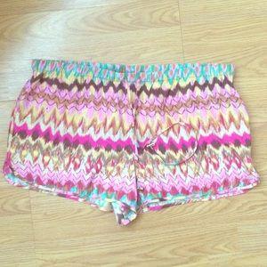 Haute Hippie Pants - Haute hippie silk shorts