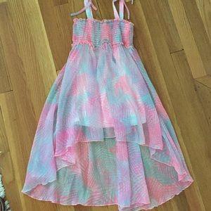 Kate Mack Other - Kate Mack beautiful dress.  Pink & blue.  Sz 5T.