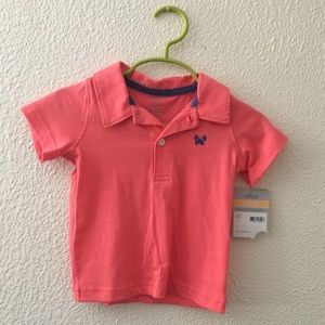 Carter's Other - Salmon pink polo