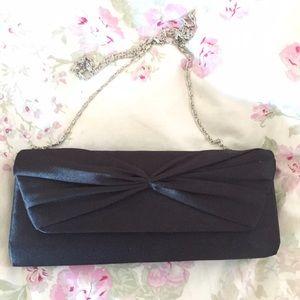 Macy's Handbags - Black Evening Bag