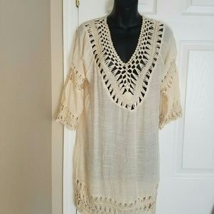 other   Tops - Tan inspired dashiki