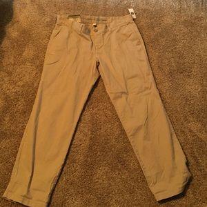 Gap Factory Pants - Girlfriend Khaki