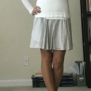 Theory Dresses & Skirts - Pale Gray Theory Skirt
