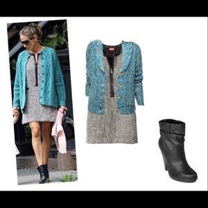 Kirna Zabete Dresses & Skirts - 🎉🎉HPick 12.9.16 🎉 Kirna Zabete♠️Tweed jumper♠️