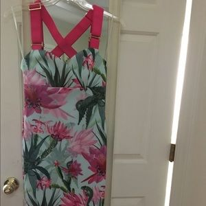 Ted Baker Floral Bodycon Dress - NWT size 2/US 6