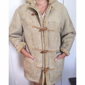 Ralph Lauren Shearling Coat