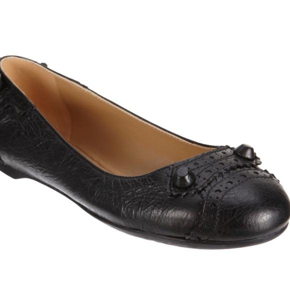 67 balenciaga shoes balenciaga leather flats from