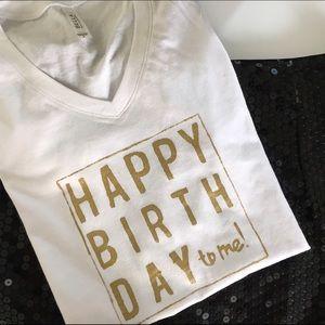 Happy birthday shirt