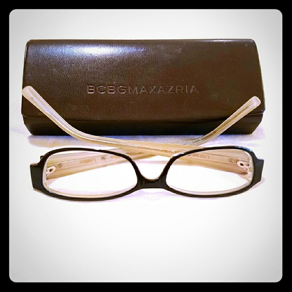 BCBGMaxAzria Accessories | Bcbg Max Azria Black Tania Frames With ...