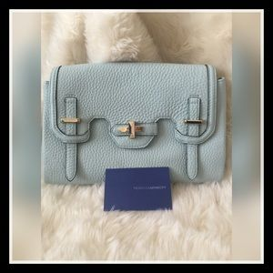 Rebecca Minkoff Mini Jules Blue Handbag Crossbody