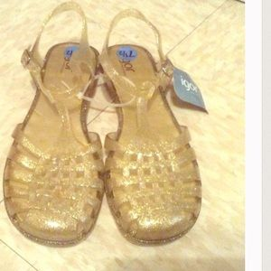Igor Shoes - Gold jelly sandals