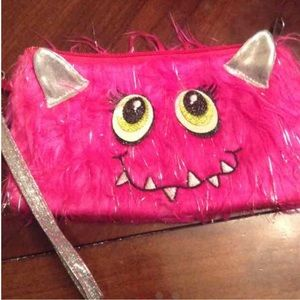 Other - Pink girls monster wallet and phone holder