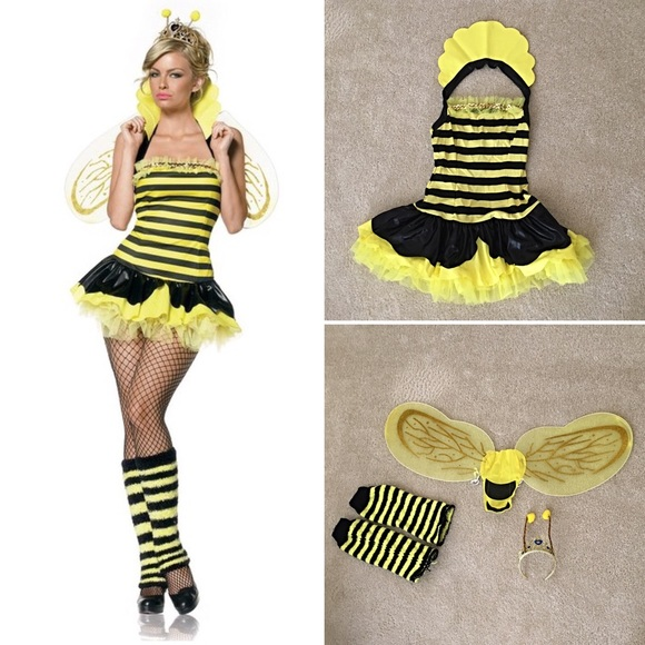 e8fd200759a Leg Avenue Other - Queen Bumble Bee Costume