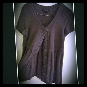 Style & Co Sweaters - Charcoal Grey Sweater Button Down Cardigan
