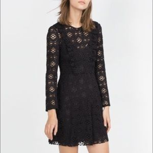 Zara Dresses & Skirts - 🎈🌟Zara Woman Mini Lace Dress