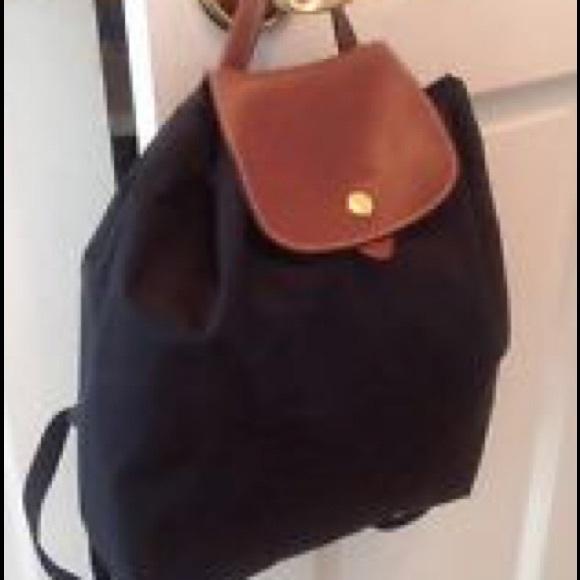 Longchamp Handbags - Longchamp Drawstring Backpack Purse 2e733be242