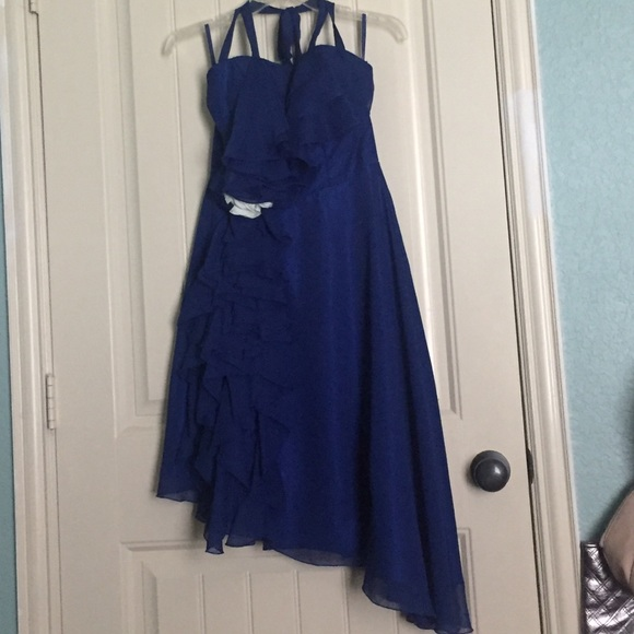 Dresses | An Electric Blue Prom Dress | Poshmark