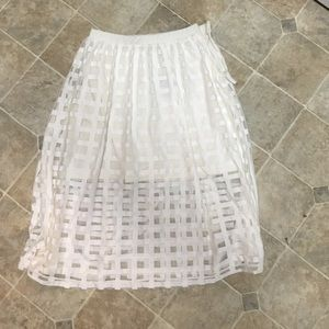 Midi Overlay Skirt