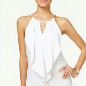 Thalia Sodi white top