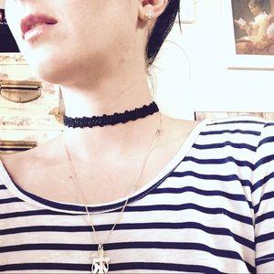 Jewelry - 🆕 Vintage lace tattoo choker