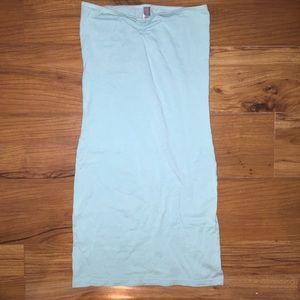 American apparel mint tube top dress size medium