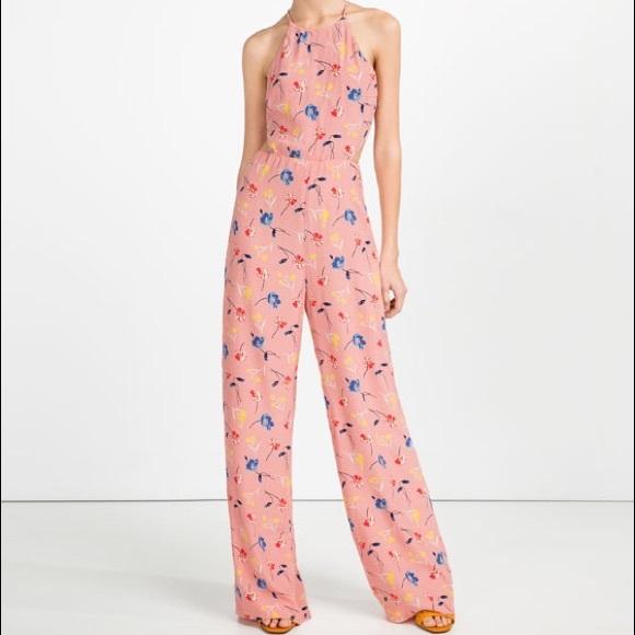 87d20bc14ec4 🆕🌸Zara floral pink jumpsuit