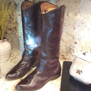 FRYE VINTAGE RIDING BOOTS