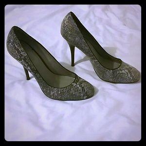 Snakeskin B. Makowsky heels