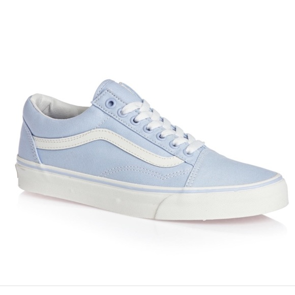 b4f82584699 Light Blue Old Skool Vans Sneakers. M 57980e77a88e7d20d1006af2
