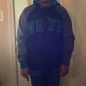 neff letterman jacket