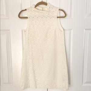 Zara Lace Cream Dress
