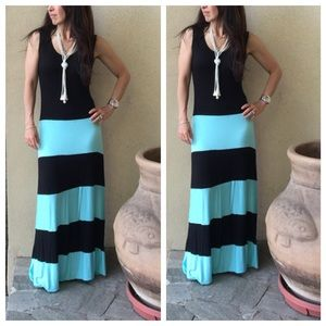 Color block maxi dress RESTOCKED